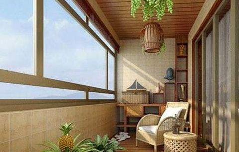 家居风水:把阳台封闭起来好吗