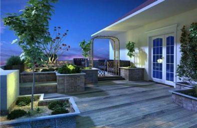 阳台假山鱼池最佳位置